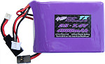 4-Max Purple Power Professional Spektrum Transmitter Battery