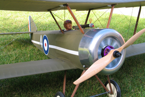 DB Sport and Scale Sopwith Pup E