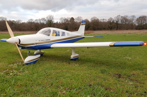 Electric setup for Seagull models Piper Cherokee