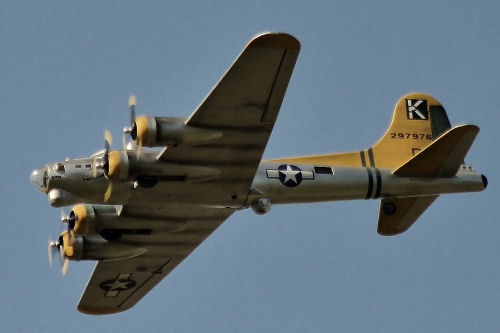 B-17 Built by Rod Browning