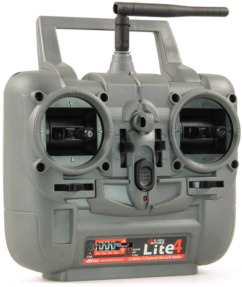 HiTEC Lite 4 2.4GHz AFHSS Tx/Rx Combo Transmitter and Receiver (153240)