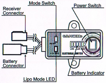 GT Power Electrical Switch