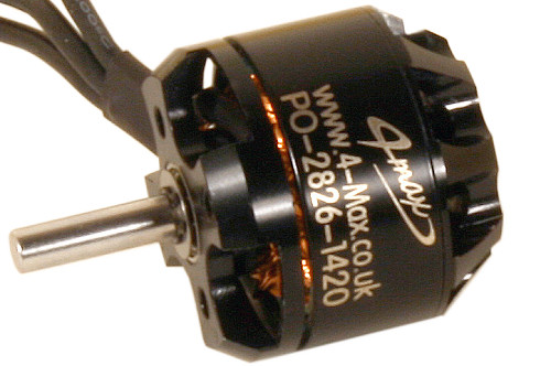 PO-2826-1420 Brushless Motor from 4-Max