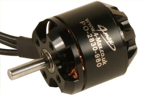 PO-2830-980 Brushless Motor from 4-Max